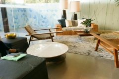 Crema Marfil Marble Table Top at Solinea in Cebu, Philippines